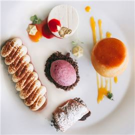 Exclusive pastry selection