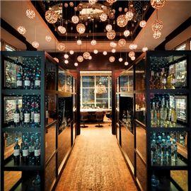 Exclusive wine room
