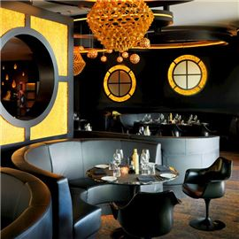 Luxurious fine dining
