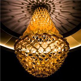 Conseptual chandelier