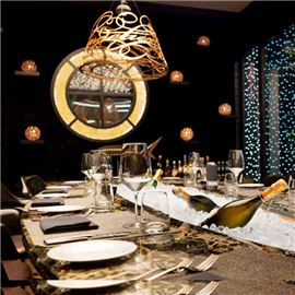 Magical private dining room