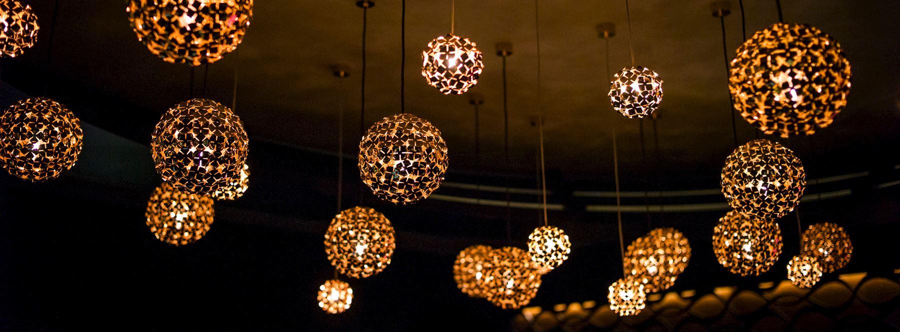 OroNero lighting design elements