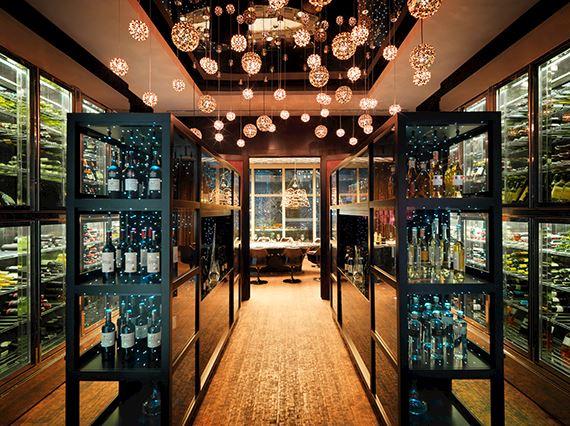 Oro Nero bar private room entrance